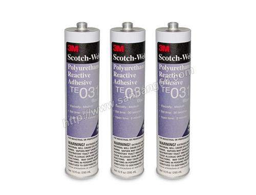 3M TE031结构胶密封胶水 黑色热熔聚氨酯胶 复合型胶粘剂